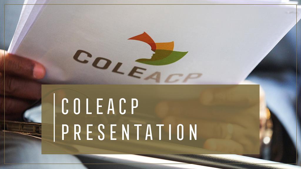 COLEACP presentation